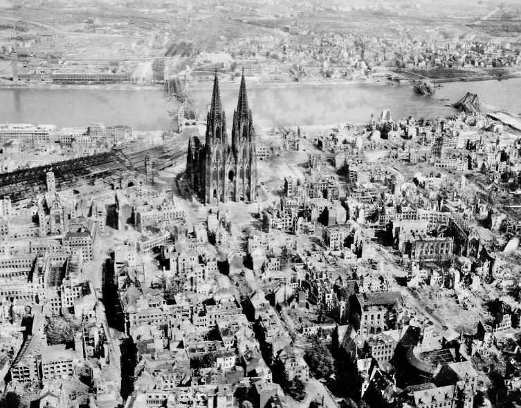 Köln Nach Dem Zweiten Weltkrieg