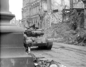 sherman panzer von 8 8 granate getroffen