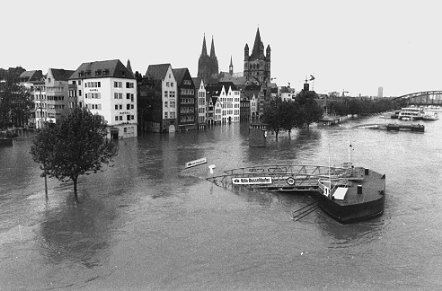 Rheinpegel Köln Vorhersage