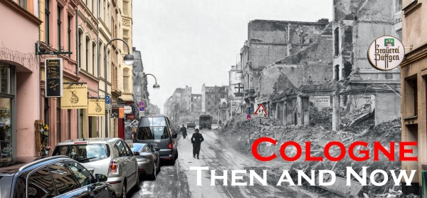 Cologne then and now
